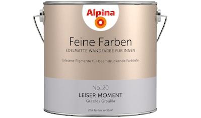 ALPINA Wand -  und Deckenfarbe »Feine Farben  -  Leiser Moment«, 2,5 l kaufen