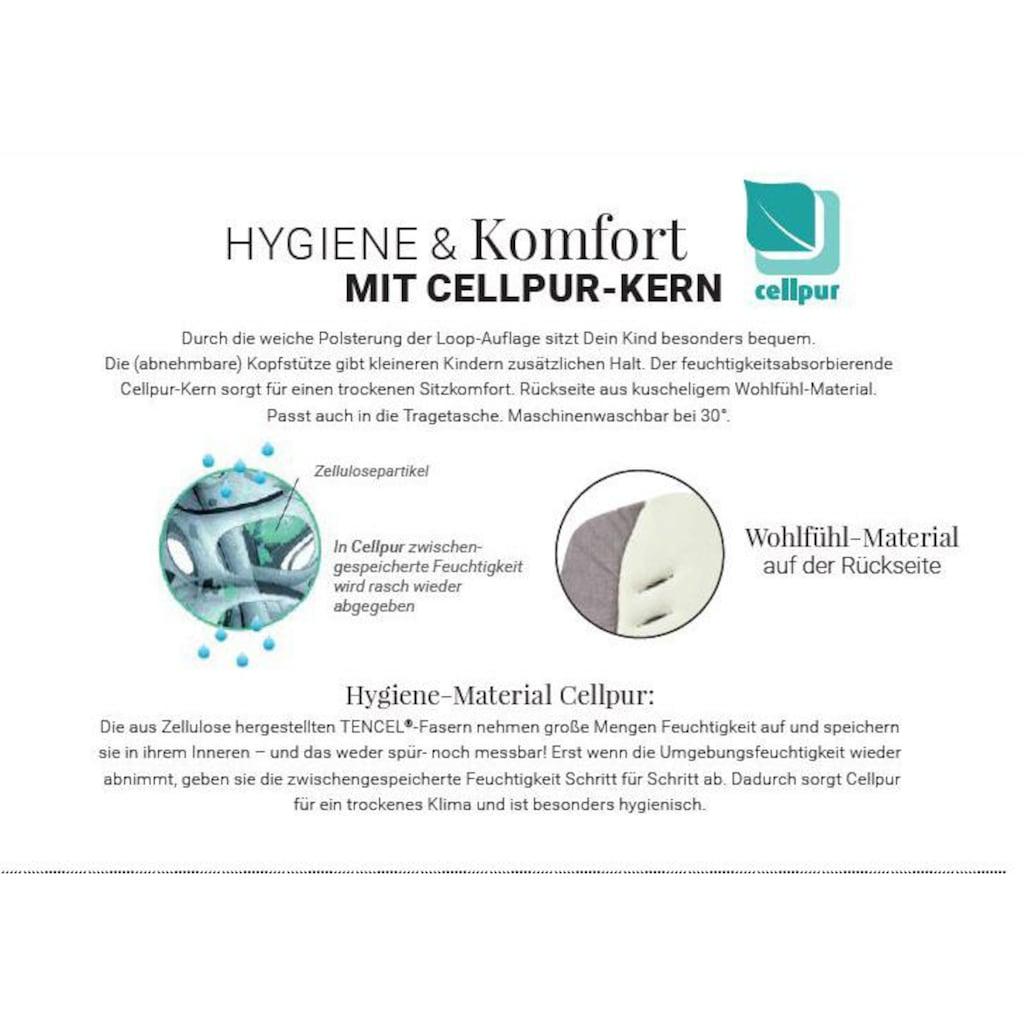 Gesslein Kombi-Kinderwagen »F6 Air+« mit Tragetasche »C1 Lift, Eisblau/Graphit«, ; Made in Germany