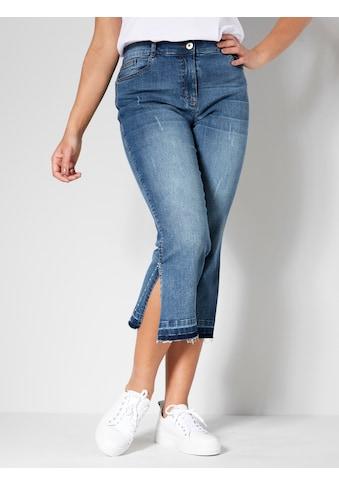 Angel of Style 5-Pocket-Jeans, mit seitlichem Schlitz kaufen