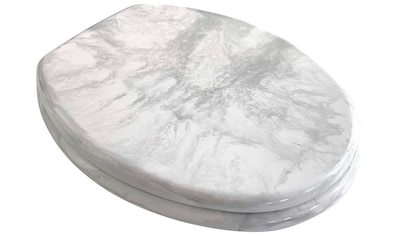 ADOB WC-Sitz »Eleganza Marmor«, sehr stabil, verstellbare Edelstahlscharniere kaufen