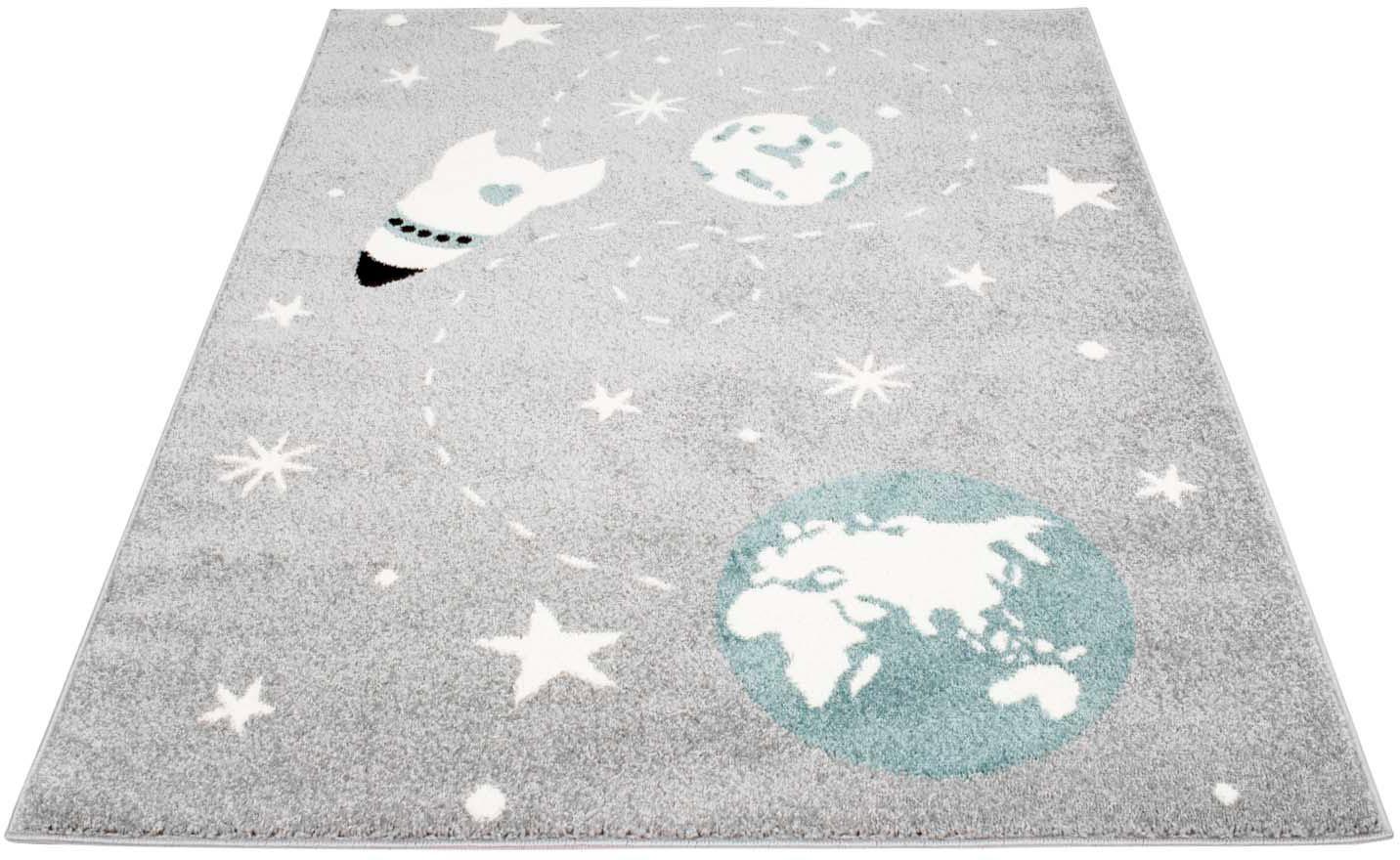 Kinderteppich Bubble Kids 1319 Carpet City rechteckig Höhe 11 mm maschinell gewebt