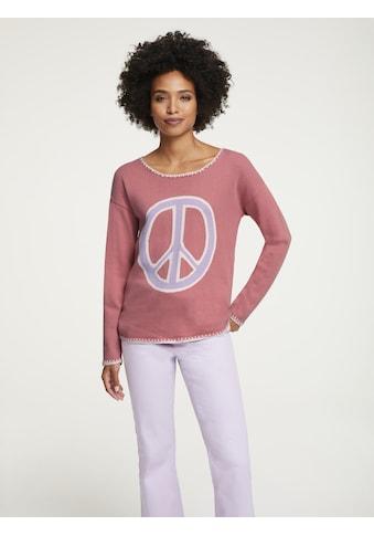 Pullover mit Peace - Zeichen kaufen