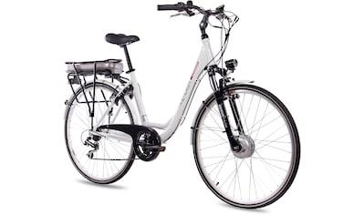 Chrisson E - Bike »E - Lady«, 7 Gang Shimano Acera RD - M360 - SGS Schaltwerk, Kettenschaltung, Frontmotor 250 W kaufen