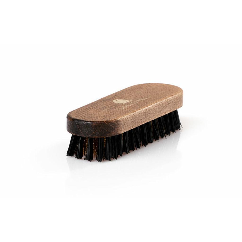 Solitaire Schuhputzbürste »Messingbürste«, Hervorragend zur Verwendung bei Rauleder