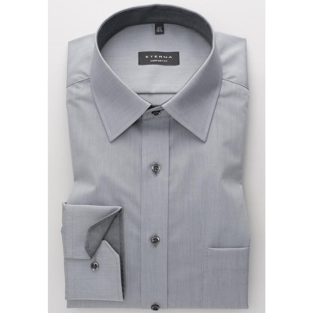Eterna Langarm Hemd
