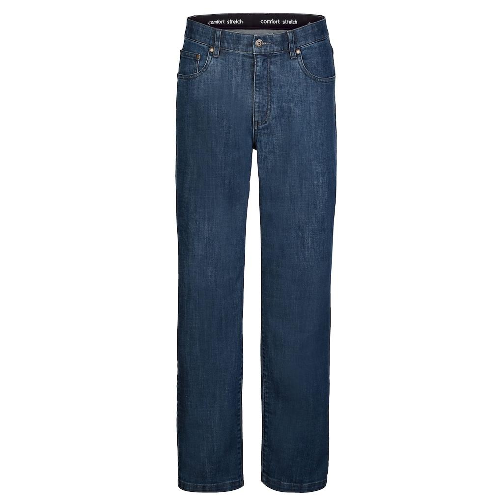 Roger Kent 5-Pocket Jeans mit Innendehnbund