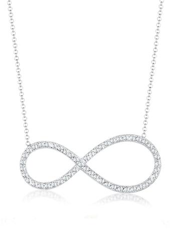 Elli Collierkettchen »Infinity Kristalle 925 Silber Noble« kaufen