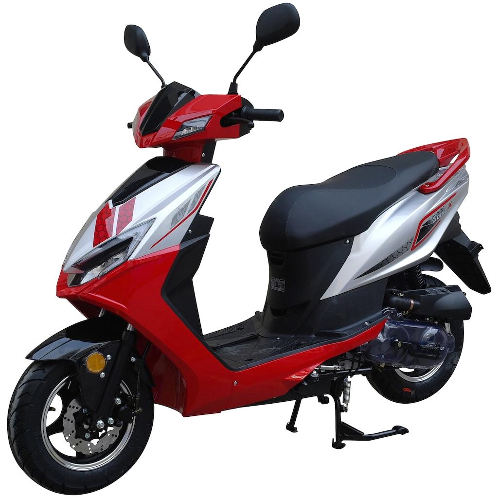 GT UNION Mofaroller »Sonic X 25«, 50 cm³, 25 km/h, Euro 5, 2,7 PS