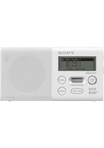 Sony Radio »Pocket - Radio, XDR - P1DBPW mit DAB« kaufen