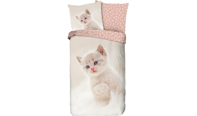 good morning Kinderbettwäsche »Catty«, mit Katze kaufen