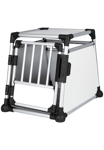 TRIXIE Tiertransportbox Aluminium, silber/hellgrau kaufen