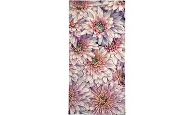 Juniqe Handtuch »Wheeping Chrysanthemums«, (1 St.), Weiche Frottee-Veloursqualität kaufen