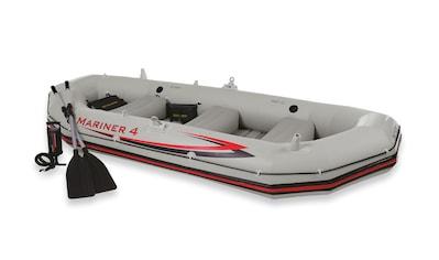 Intex Schlauchboot »Mariner 4«, (Set, mit 2 Paddeln und Luftpumpe) kaufen