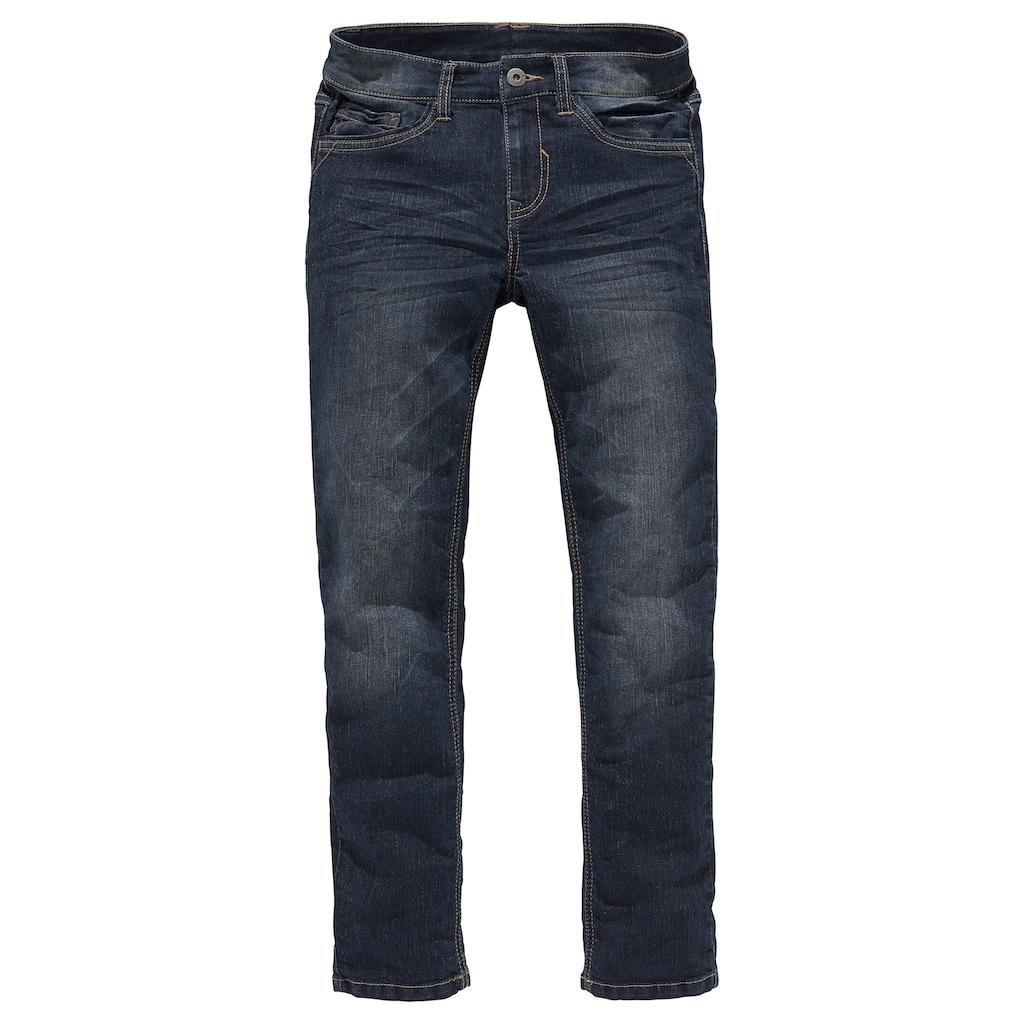 Arizona Stretch-Jeans, mit schmalem Bein