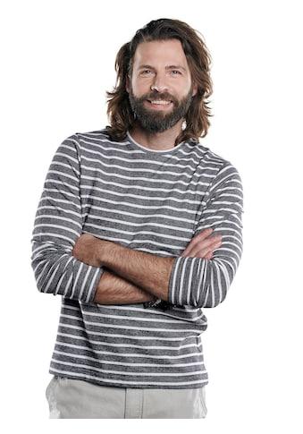 emilio adani Rundhals Shirt mit besonderem Farbeffekt kaufen