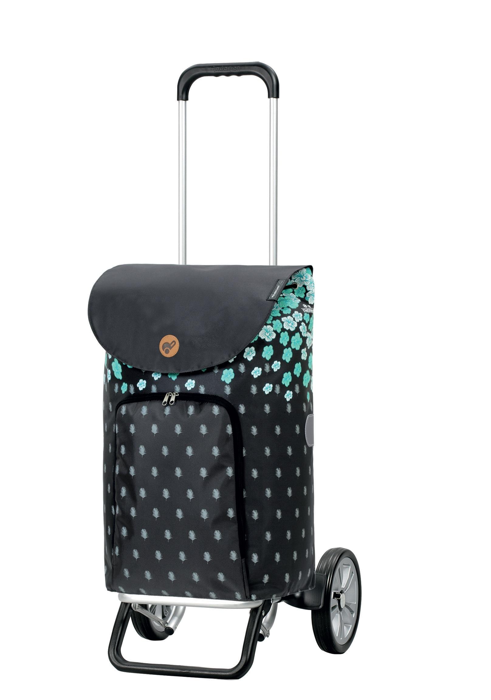 Andersen Einkaufstrolley Alu Star Shopper Liliy, MADE IN GERMANY, 41 Liter | Taschen > Handtaschen > Einkaufstasche | Andersen