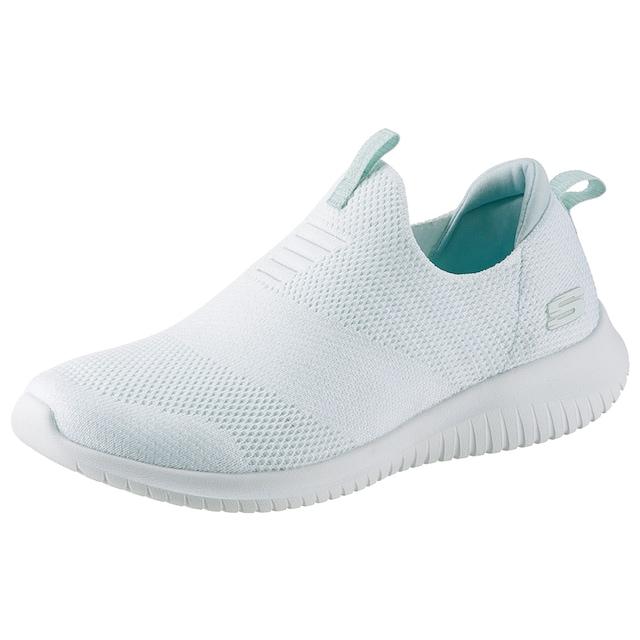 Skechers Slip-On Sneaker »Ultra Flex - Candy Cravings«, mit feinem Glitzer