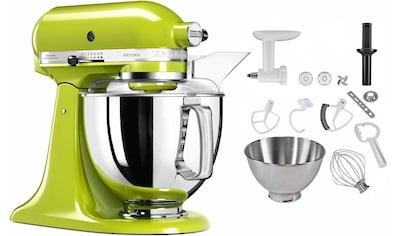 KitchenAid Küchenmaschine 5KSM175PSEGA, apfelgrün, 300 Watt, Schüssel 4,8 Liter kaufen