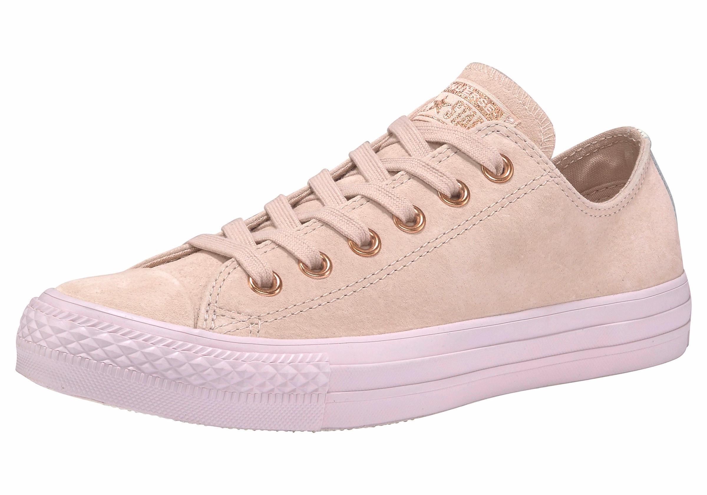 converse chuck taylor all star ox tonal suede sneaker