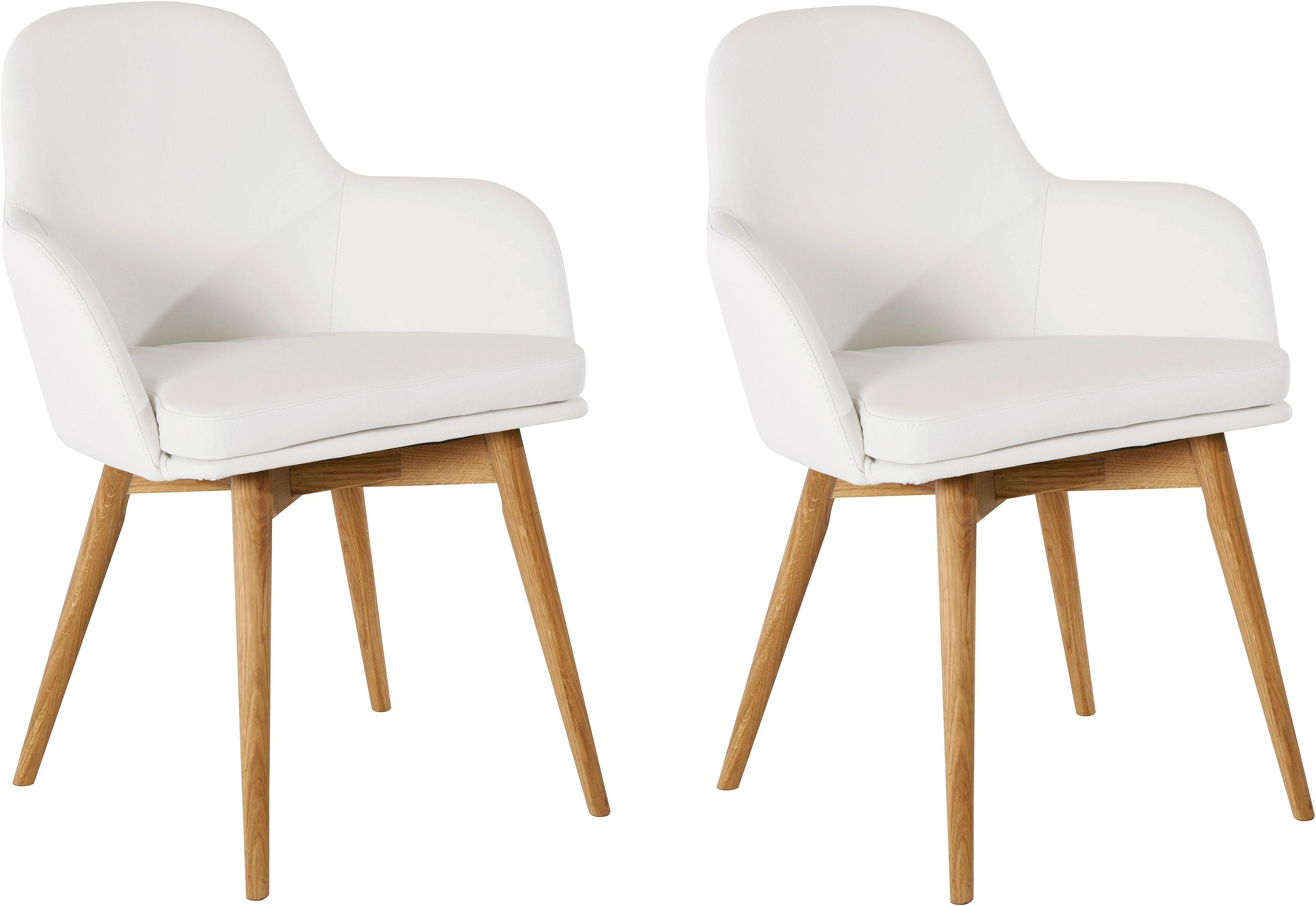 "WOHNIDEE-Kollektion Armlehnstuhl ""Malva"" Wohnen/Möbel/Stühle & Sitzbänke/Holzstühle"