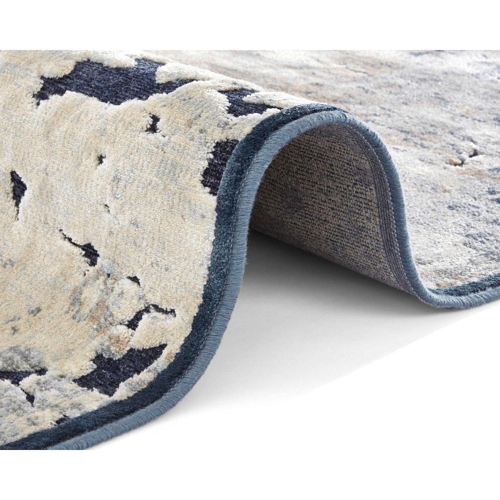 ELLE Decor Teppich »Arroux«, rechteckig, 8 mm Höhe, Hoch-Tief-Struktur, Wohnzimmer