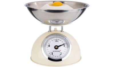 KORONA Küchenwaage »76151 PAUL«, incl. Edelstahl-Wiegeschale kaufen