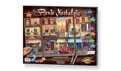 Schipper Malen nach Zahlen »Triptychon - Paris Nostalgie«, Made in Germany kaufen