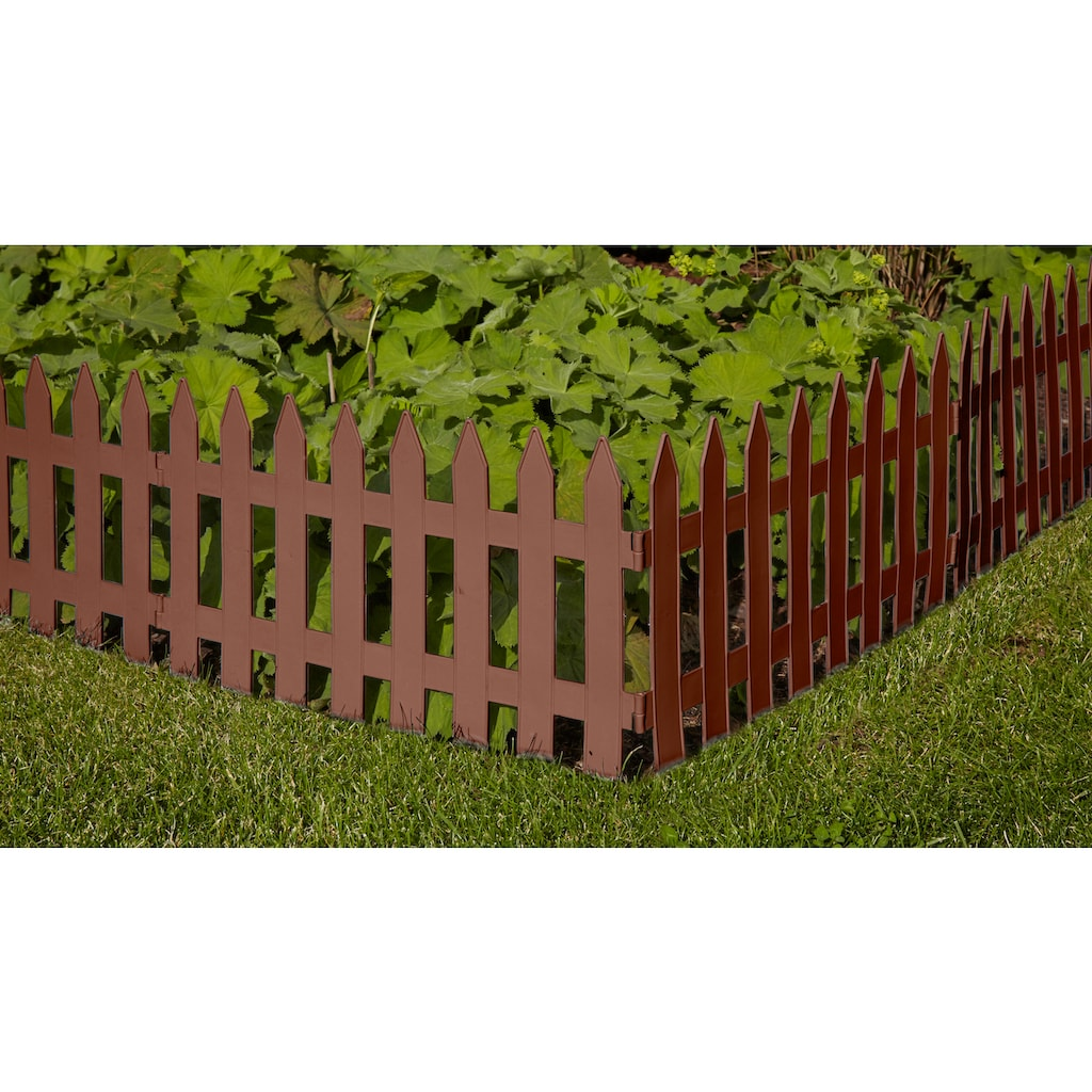 Prosperplast Beetumrandung »Garden Classic«, Minizaun
