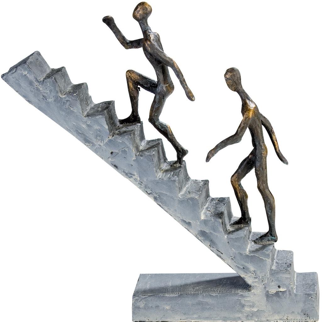 Casablanca by Gilde Dekofigur »Skulptur Staircase«, Dekoobjekt, Höhe 28 cm, mit Spruchanhänger, Wohnzimmer