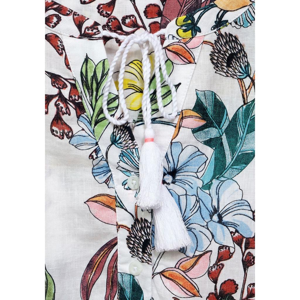 Cecil Schlupfbluse, mit floralem Druckmuster