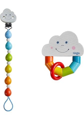 Haba Greifling »Regenbogenwelt«, mit Schnullerkette kaufen