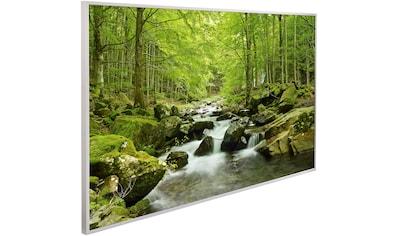 Papermoon Infrarotheizung »Wasserfall im Wald, EcoHeat«, Aluminium, 600 W, 100x60 cm,... kaufen