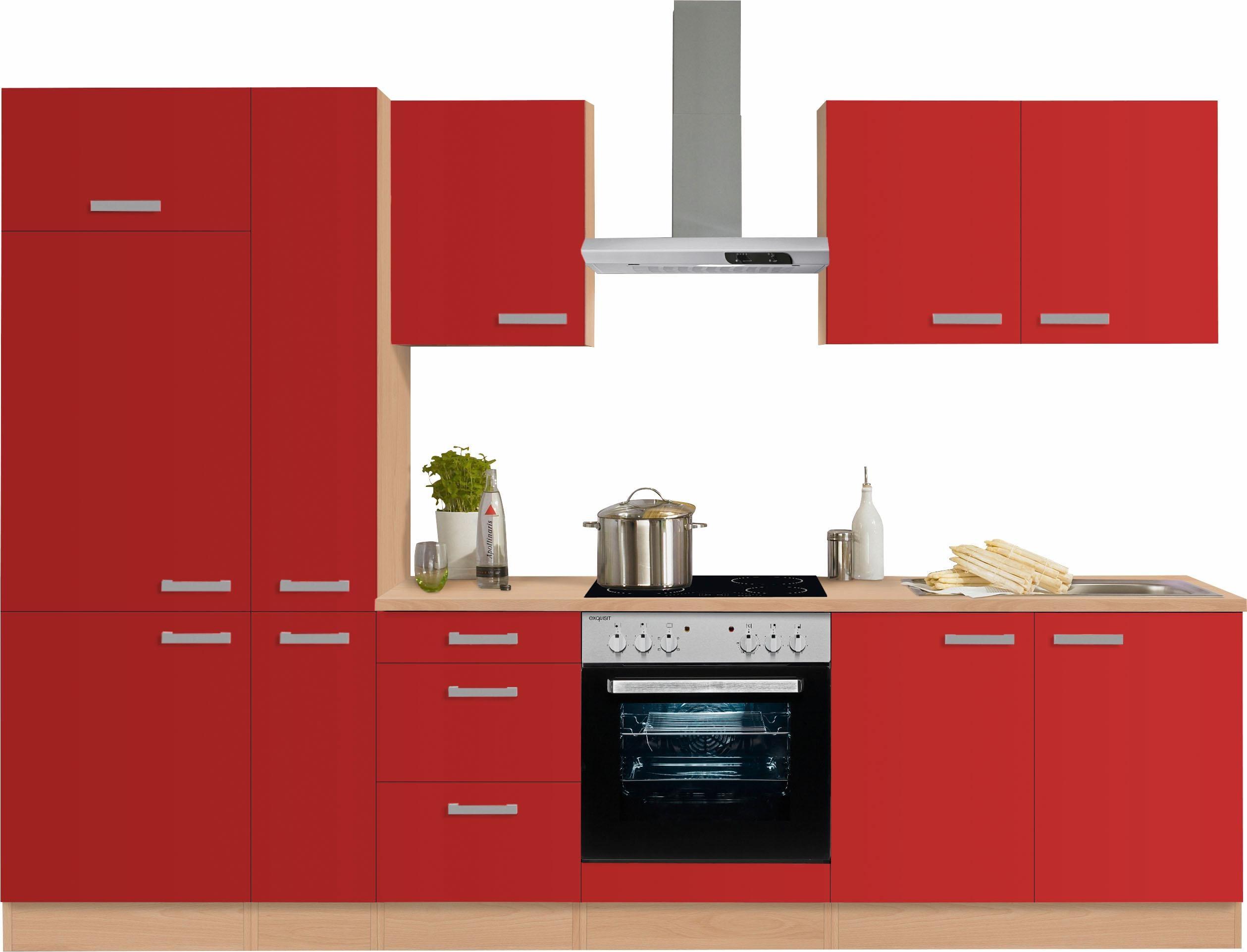 rot Küchenzeilen online kaufen | Möbel-Suchmaschine | ladendirekt.de ...