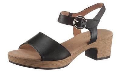 Gabor Sandalette »KRETA«, mit Zierschnalle kaufen