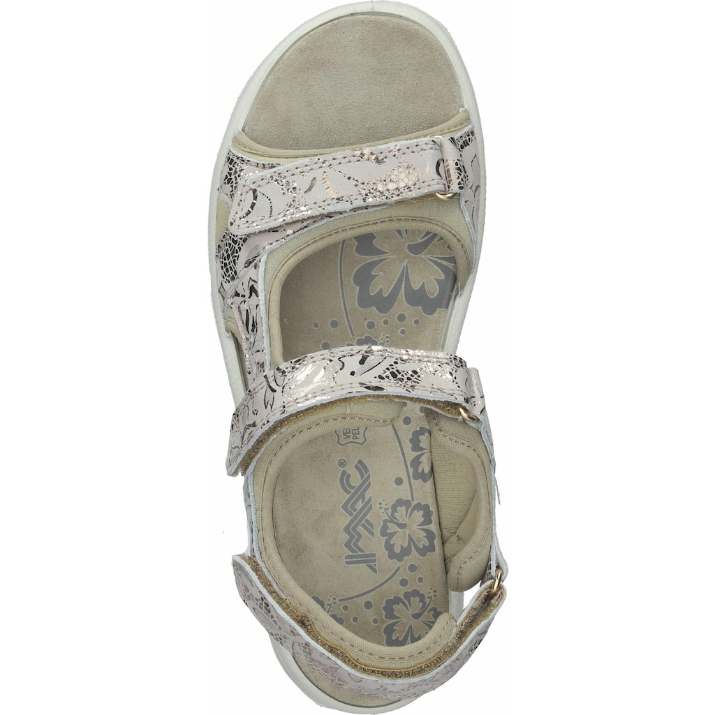 Imac Sandale »Leder/Textil«