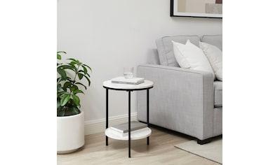 andas Beistelltisch »Amatsia«, Tischplatte aus pflegeleitem MDF mit Folie, Gestell aus... kaufen