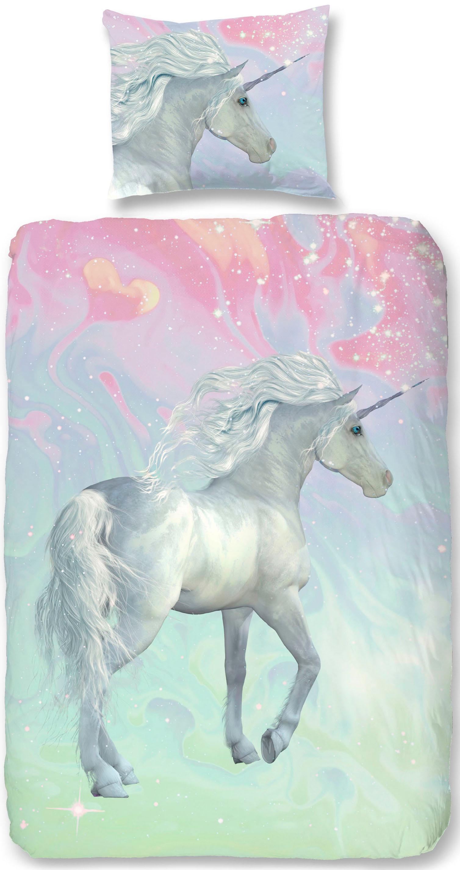 Kinderbettwäsche Unicorn good morning