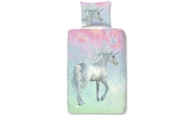 good morning Kinderbettwäsche »Unicorn«, mit Einhorn kaufen