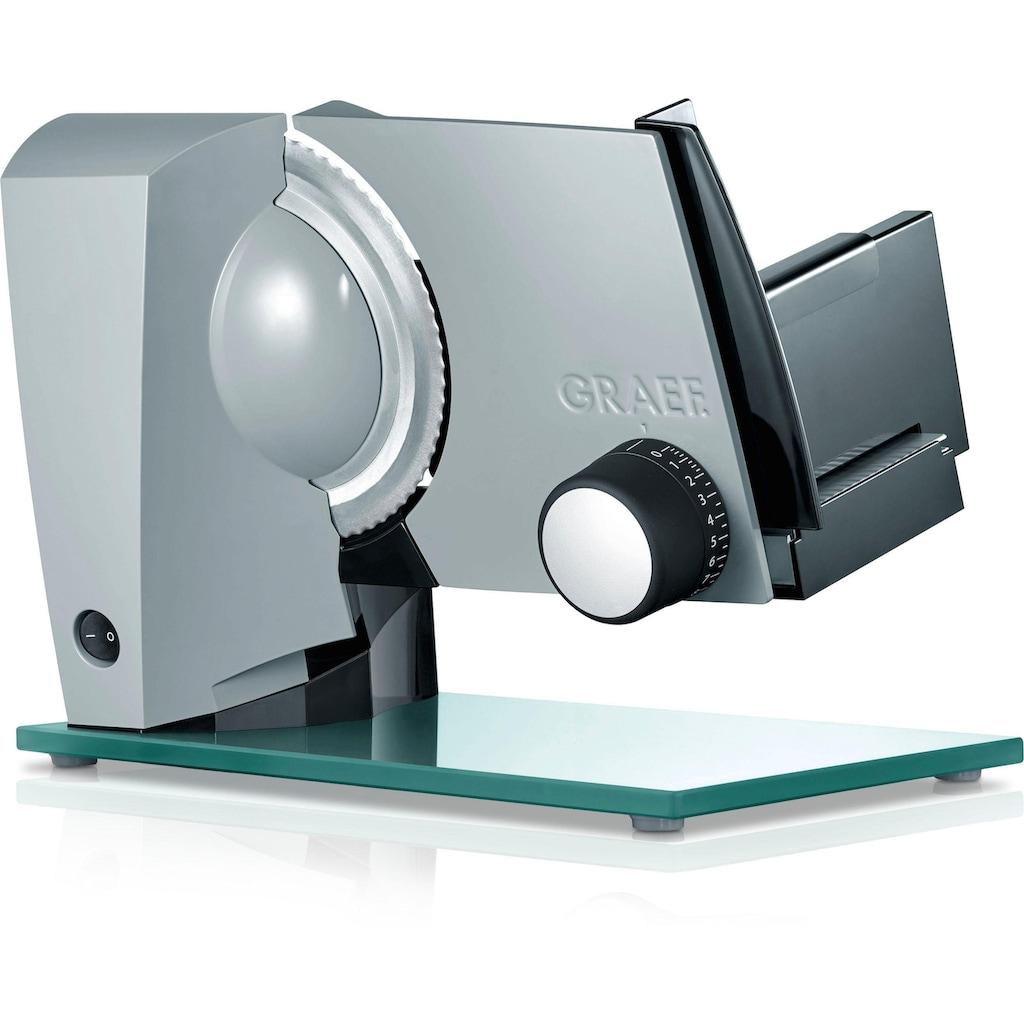 Graef Allesschneider »Sliced Kitchen S12120OT TWIN«, 170 W, inkl. Schinkenmesser mit glatter Schneide im Wert von 24,99€ UVP