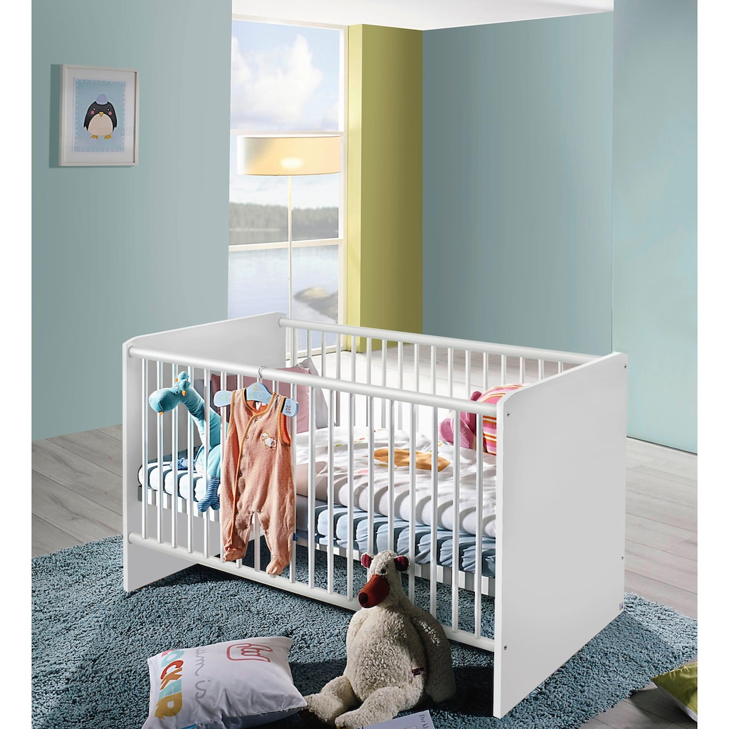 rauch BLUE Babymöbel-Set »Bristol«, (Spar-Set, 2 St.), Bett + Wickelkommode