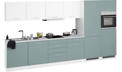HELD MÖBEL Küchenzeile »Visby«, mit E-Geräten, Breite 360 cm kaufen
