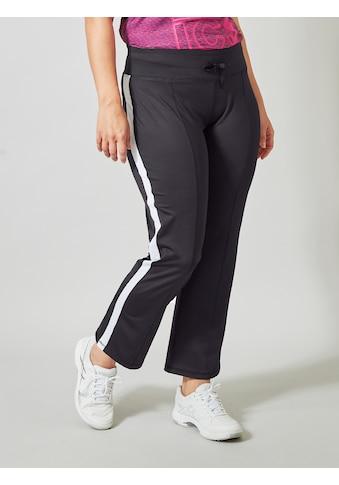 Janet & Joyce by HAPPYsize Sporthose, mit Kontrast-Seitenstreifen kaufen