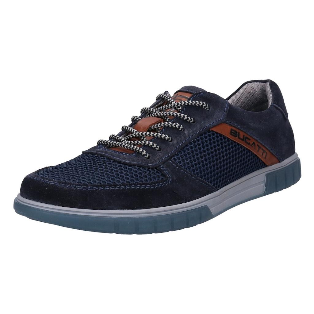 bugatti Sneaker »PRATO«, mit gepolstertem Schaftrand