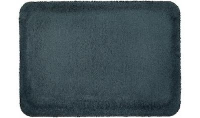 wash+dry by Kleen-Tex Fußmatte »Stand on Uni«, rechteckig, 21 mm Höhe, Schmutzfangmatte kaufen