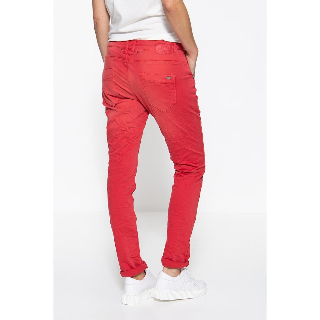 ATT Jeans Boyfriend-Jeans »Gwen«, mit Crinkle Optik