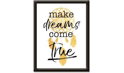 Artland Wandbild »Träume wahr werden lassen« kaufen