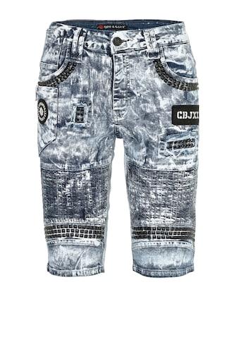 Cipo & Baxx Shorts, mit markanten Nietenelementen kaufen