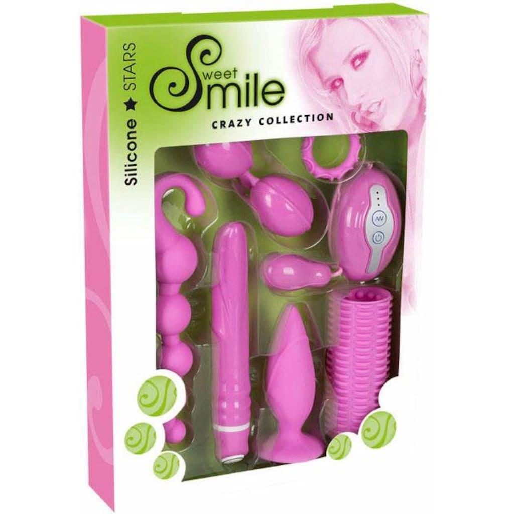 Smile Erotik-Toy-Set »Crazy Collection,«, (7 tlg.)