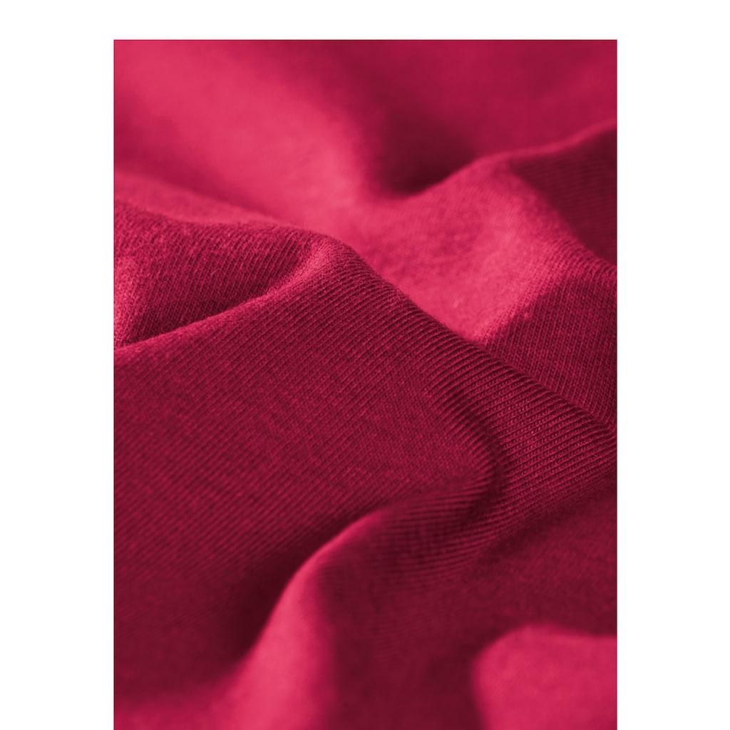 Trigema Langarmshirt, aus Biobaumwolle