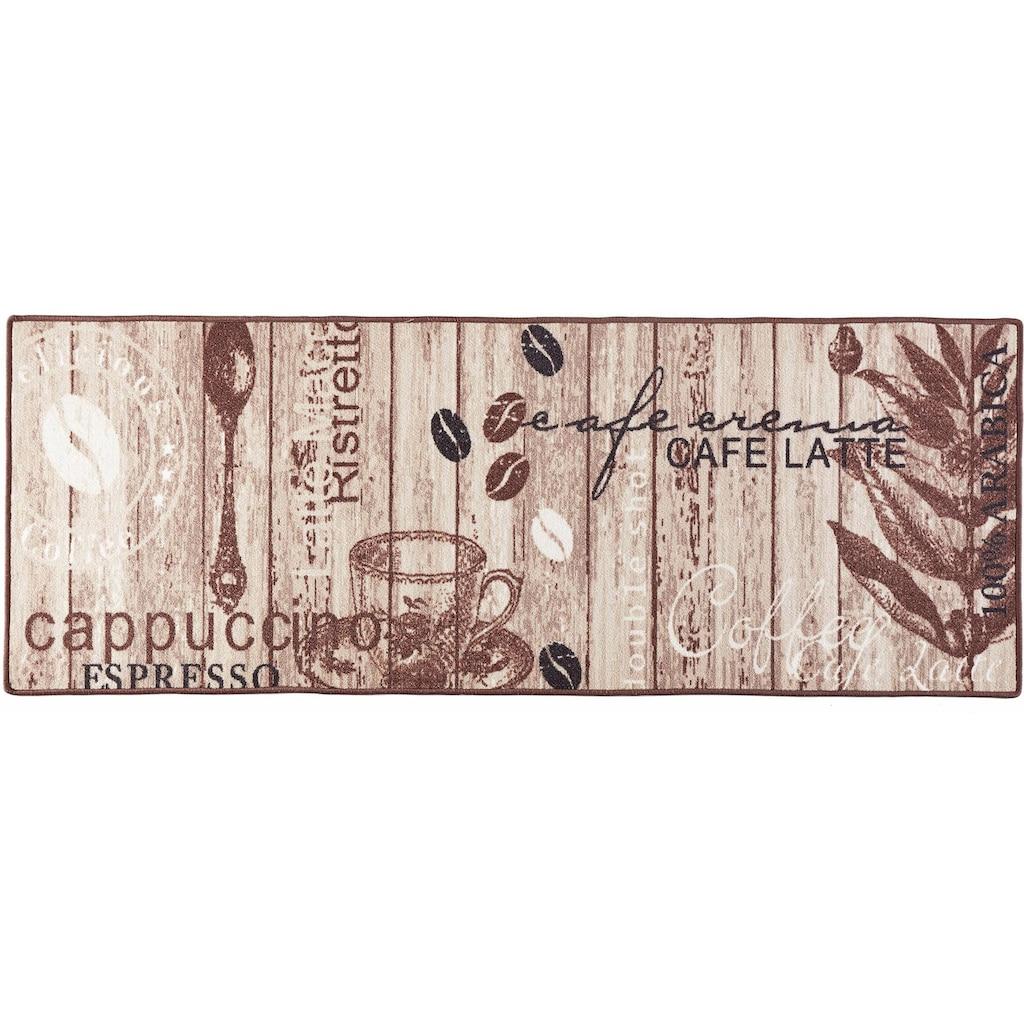 HANSE Home Küchenläufer »Delicious Coffee«, rechteckig, 8 mm Höhe